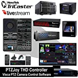 Newtek TriCaster & Livestream PTZ Camera Control Software - PTZJoy THD Controller by Rocosoft Inc.