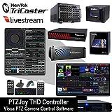 Rocosoft Newtek TriCaster & Livestream PTZ Camera Control Software - PTZJoy THD Controller