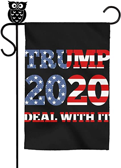 Amazon.com : kanidjkd Autumn Home Garden Flag Trump 2020 Deal with IT  Political Humor Flag Premium MaterialSummerDecorative Flags, 12 X 18 Inch :  Sports & Outdoors