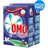 OMO Active Auto Laundry Detergent Powder, 2.5 kg Twin Pack