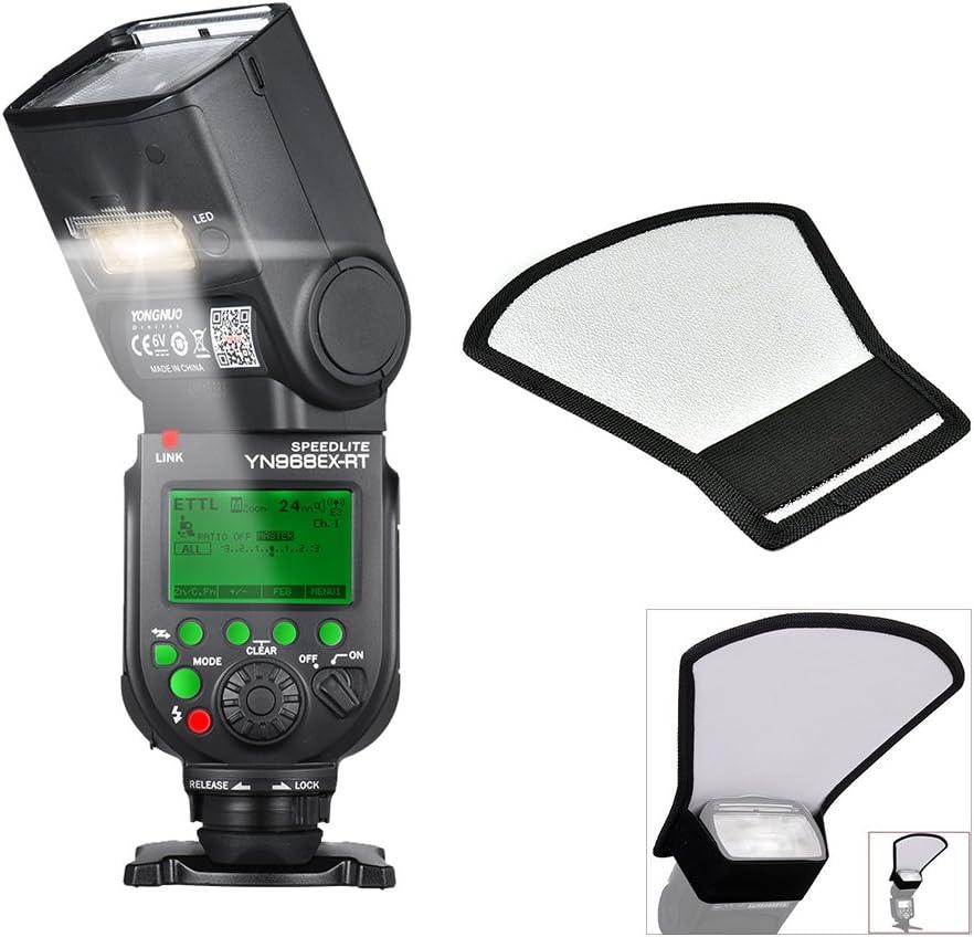 Flash Speedlite Yongnuo YN968EX-RT Wireless para Canon 600EX-RT Difusor UK
