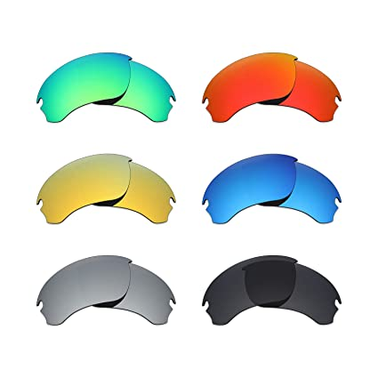 81669b9fdd Image Unavailable. Image not available for. Color  Mryok 6 Pair Polarized  Replacement Lenses for Oakley Si ...