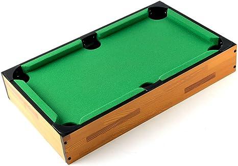 Desconocido Tablero de la Mesa Mini Mesa de Billar y Accesorios 18 x 11 x 3,5 Pulgadas niños Juegos: Amazon.es: Deportes y aire libre