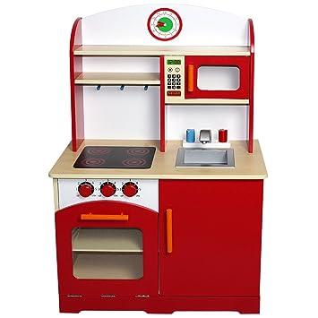 Infantastic Cucina giocattolo cucina gioco per bambini di legno ca ...