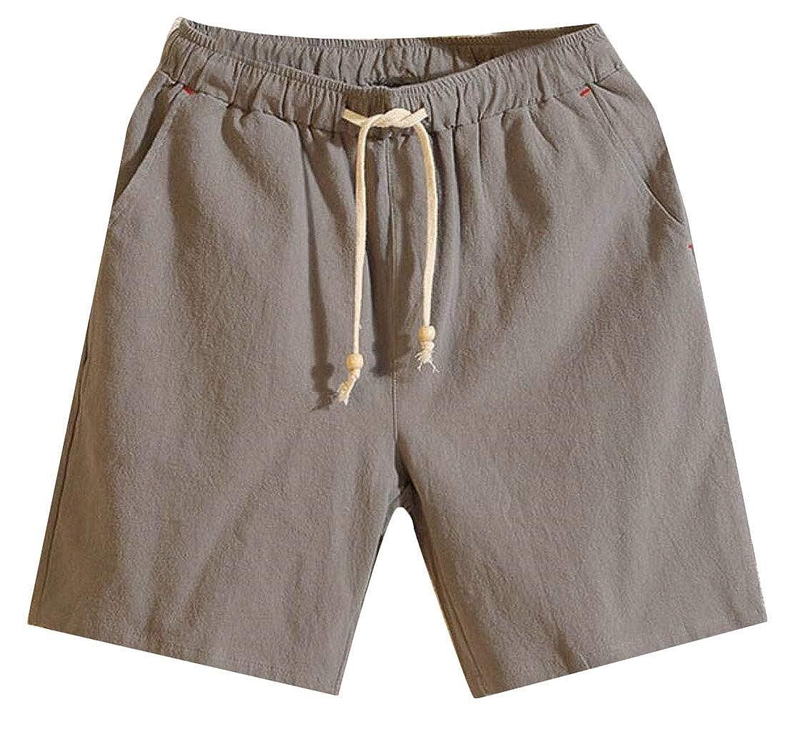 Mens Beach Pants Sports Fashion Pants Summer Fitness Running Pants