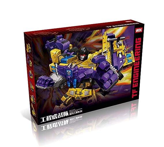 Amazon.com: NBK Transformer Robot Devastator juguetes de ...