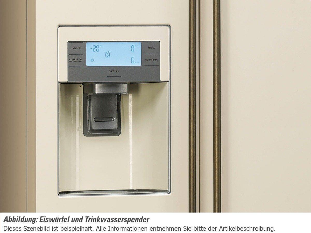 Side By Side Kühlschrank Creme : Smeg sbs po side by side kühl gefrier kombination creme amazon