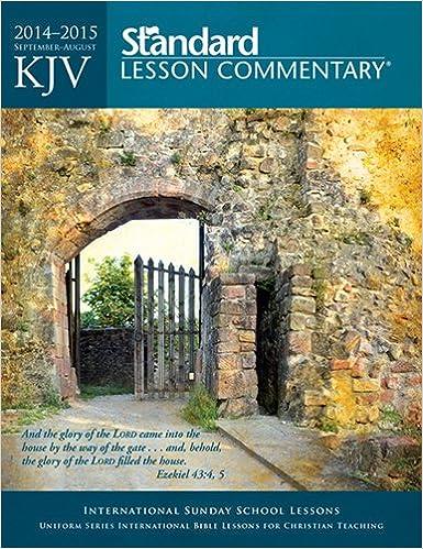 christian standard sunday school lesson 2014
