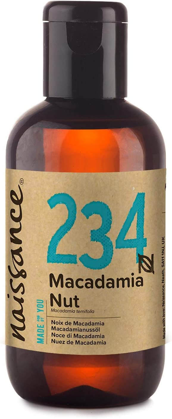Naissance Aceite Vegetal de Macadamia 100ml - 100% puro, vegano y no OGM …