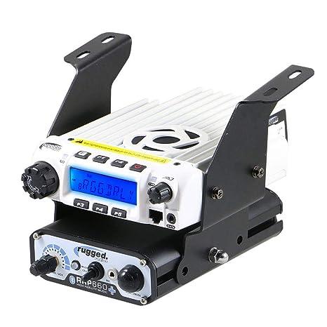 Rugged Radios MT-XP1-BD-RM60 Polaris RZR XP1 Below Dash Mount for Rugged  Radios Mobile Radios & Intercoms