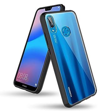 BENTOBEN Funda para Huawei P20 Lite, Carcasa Huawei P20 Lite Transparente Cristal Cover Ultra Delgada Protectora del Cuerpo Completo Resistente ...