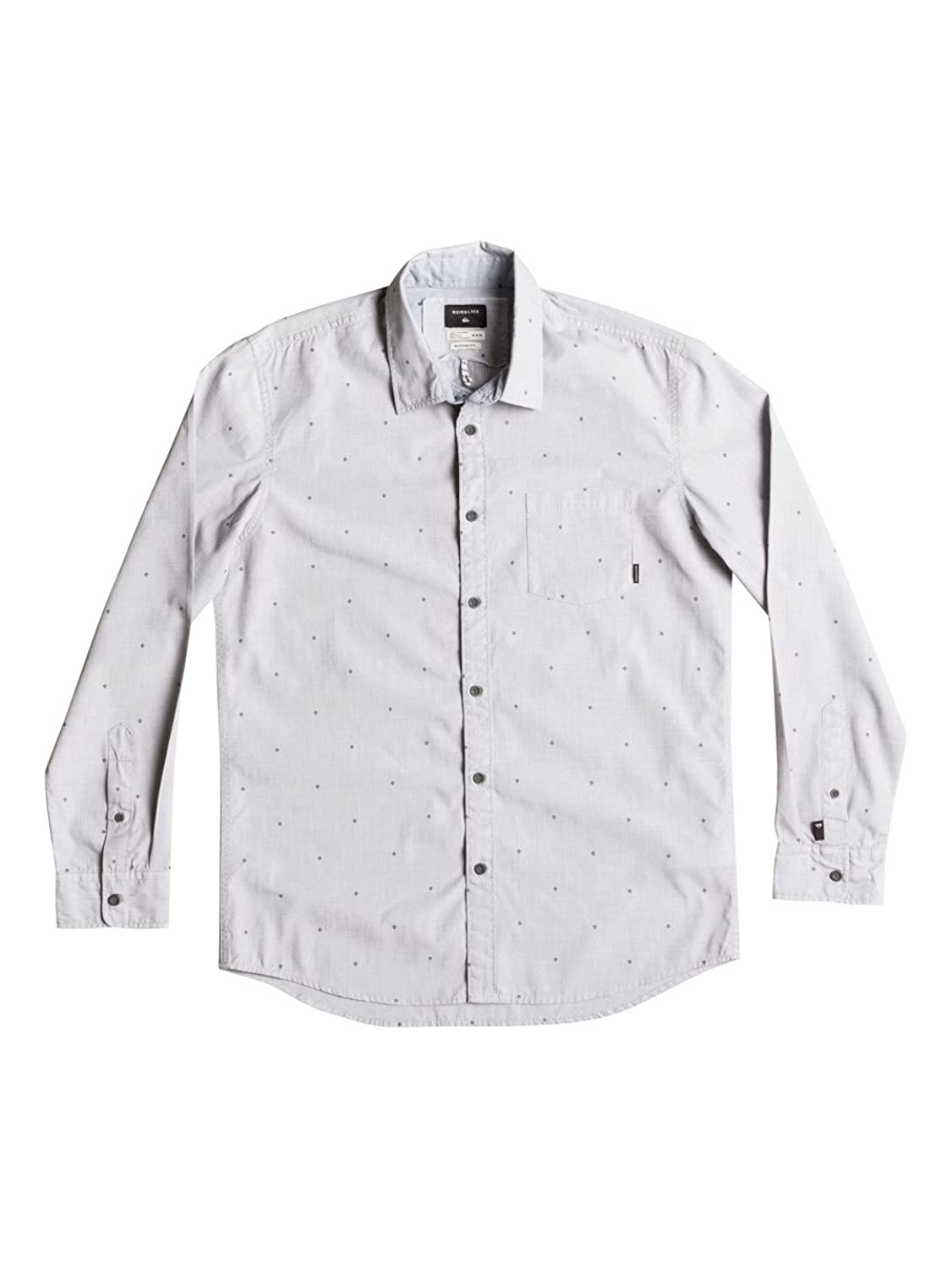 Herren Hemd lang Quiksilver New Everyday Mini Motif Shirt LS