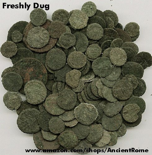 (ONE Uncleaned & Unsearched Ancient Roman Coin)