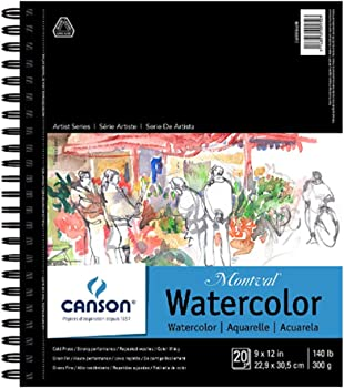 Canson Erasable 140 Pounds Acid-Free Paper For Watercolor