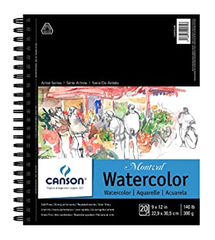 Canson 20-Sheets Watercolor Paper