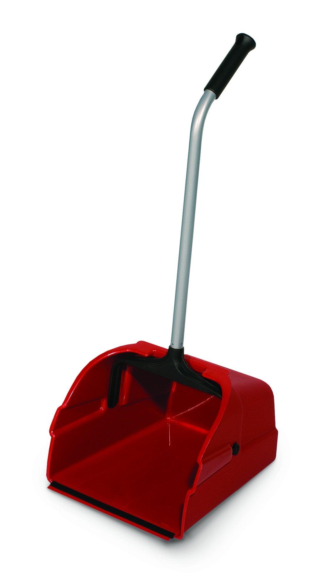 Delamo 8497-6 Jumbo Debris Lobby Pan, Red (Pack of 6)