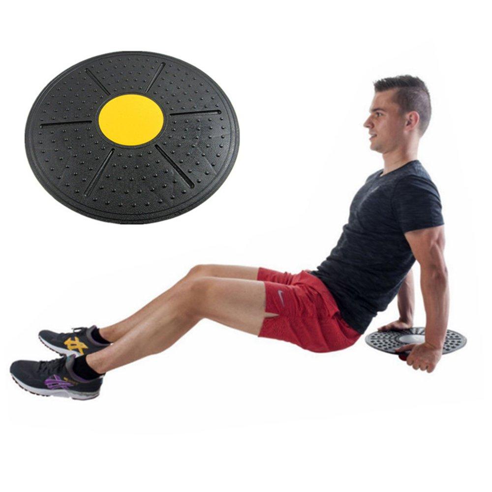 FJROnline Tabla de Equilibrio para Fitness Superficie Antideslizante Entrenamiento Tabla Fitness para Ejercicio Rehabilitaci/ón Ejercicio