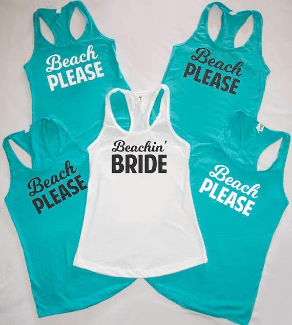 Bachelorette Party Favors Vneck Future Mrs Bridal Party T-Shirt Bridesmaid Shirts Cheers Bitches Tank Top Bachelorette Party Shirts