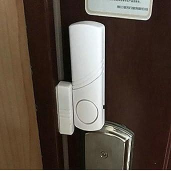 QUICKLYLY Alarma Puertas y Ventanas, Sistema de Alarma con Sensor de Movimiento, Alarma Portátil