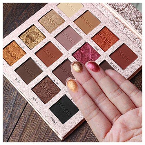 Inkach Eyeshadow Palette - 16 Colors Makeup Palette Set Eye-