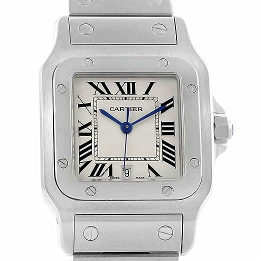 73286759387ab Cartier Santos galbee Cuarzo Mujer Reloj W20060D6 (Certificado) de Segunda  Mano  Cartier  Amazon.es  Relojes