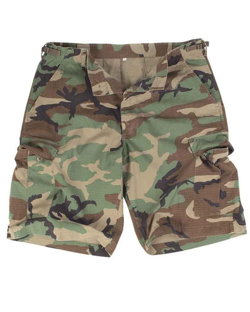 good Mil-Tec US Lavados Ripstop Bermuda Pantalones Cortos Woodland ... 1c5e7dc98133