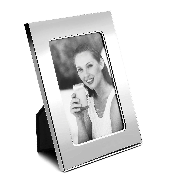 Amazon.de: Fotorahmen Sofia glänzend 20x25cm versilbert anlaufgeschützt