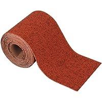 Wolfcraft 1773000 1773000-1 rollo papel abrasivo, plata, grano