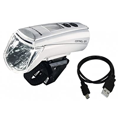 Phare lED trelock lS 950 control ion 70 avec fixation variotex zL 700–blanc