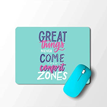 pikkme quote quotes comfort zone blue designer printed laptop