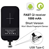 [Short Version] Type C Wireless Charging Receiver, Nillkin Magic Tag USB C Qi Wireless Charger Receiver Chip for Google Pixe/Nexus 6P and Other Small Size USB-C Phones