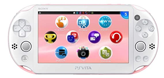 PlayStation (R) Vita Wi-Fi Model Light Pink/White by ...