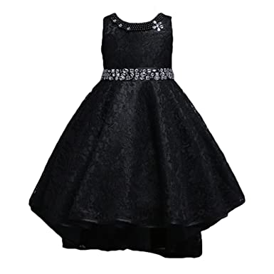Girls Princess Dress - Highdas Flowers Girls Party Wedding Pageant Dresses Formal Tutu Dresses Lace Festive
