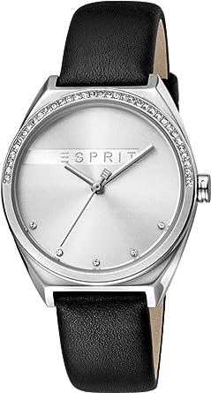 Quarz Analog Es1l057l0015Amazon Esprit Damen Mit Armband Uhr Leder ulK1c5TFJ3