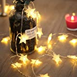 coku Jstbuy 28 LED 10 m Star Fairy String Light (Golden)