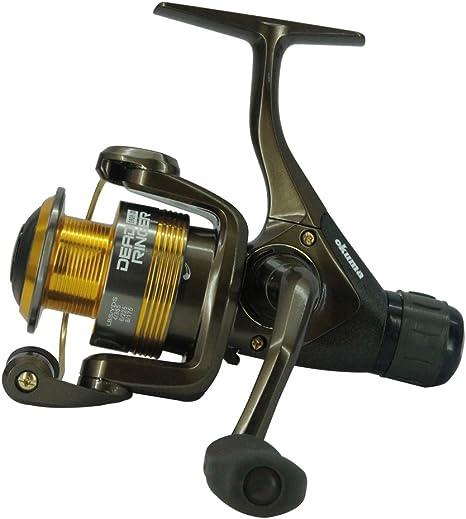 Okuma muerto timbre RD Spinning Match alimentador carrete de pesca ...