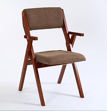 silla plegable Silla plegable de madera Silla plegable de ...