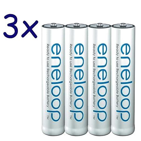 Review 12-Pack eneloop AAA Batteries