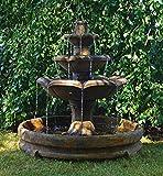 HENRI STUDIO Montreux Three-Tier Fountain in Rondo Pool For Sale