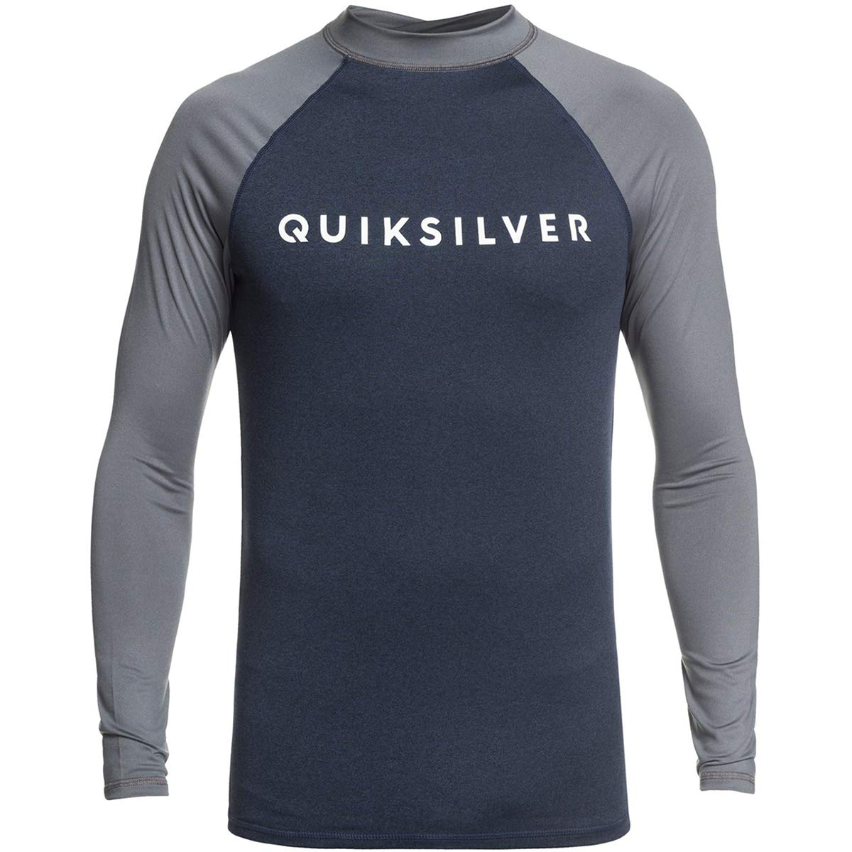 Quiksilver Always There Long Sleeve Rashguard Moonlit Ocean Heather SM by Quiksilver