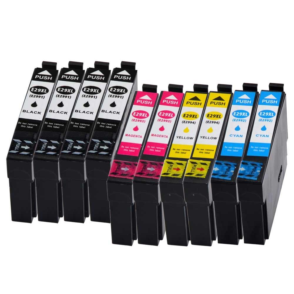 10 x Cartuchos de Impresora Compatible Disa para Epson PK 29 XL ...