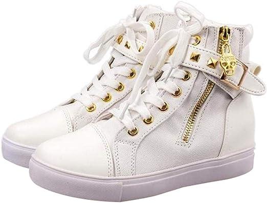 Pitashe Stiefeletten Damen Schuhe Segeltuchschuhe Einzelne