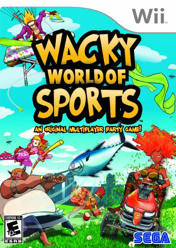 wacky world of sports wii - 1