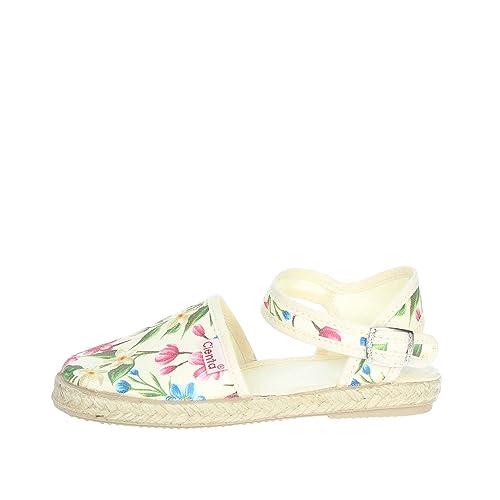5dbd3d82789d0 CIENTA 40023 Espadrilles Fille  Amazon.fr  Chaussures et Sacs