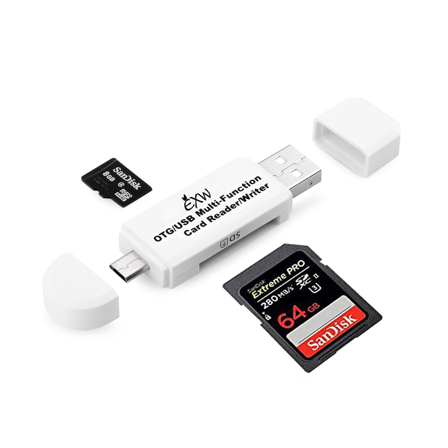 micro usb sd flash memory card adapter reader smart phone notebook tablet pc new ebay. Black Bedroom Furniture Sets. Home Design Ideas