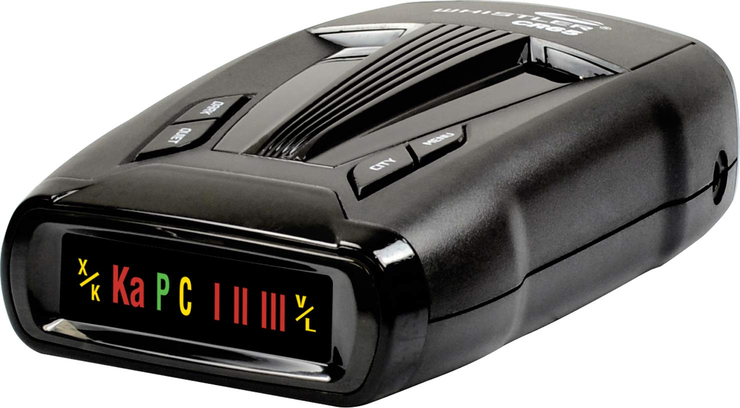 360 Degree Protection and Tone Alerts Whistler CR68 High Performance Laser Radar Detector