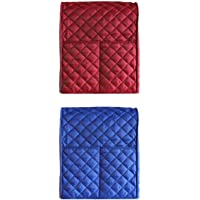 Magideal Various Plastic Kitchen Aid Mixing Stand Home Kitchenware Bakeware Mixer Cover 2-Piece, Red and Blue