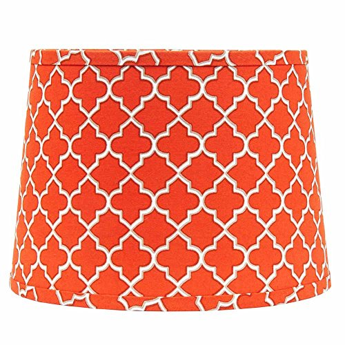 Home Collection by Raghu 4D340027 Orange, White & Grey Quatr