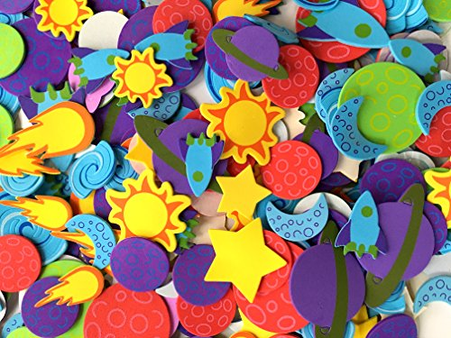 playscene-self-adhesive-foam-craft-stickers-planets-500-pack
