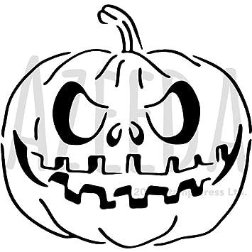 Azeeda A3 \'Calabaza de Halloween\' Plantilla de Pared / Estarcir ...
